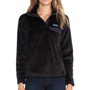 Patagonia Re-Tool Pullover Snap T Black